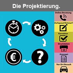 Projektierung - Diverse Dienstleistungen zur Ausführungsoptimierung